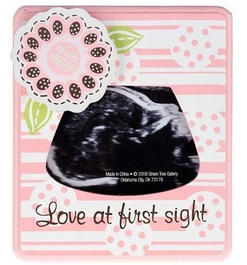 Love At First Sight Sonogram Picture Frame Shalom Media Store